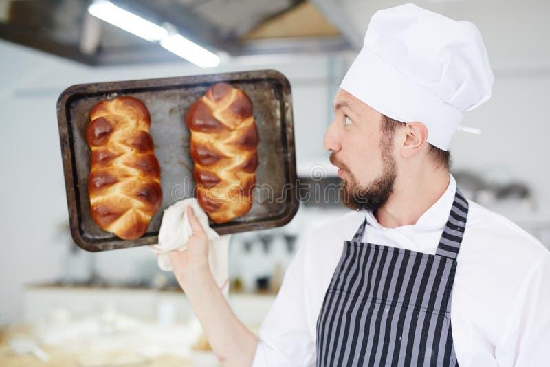 Фокус хлеба стоковая фотография