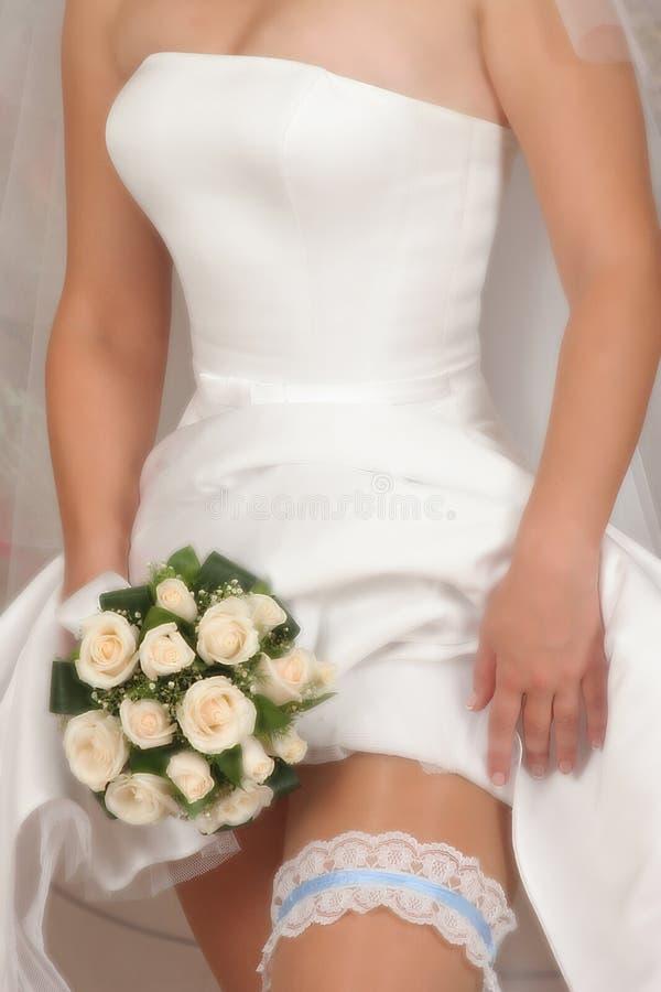 фокус fl букета bridal стоковые фотографии rf