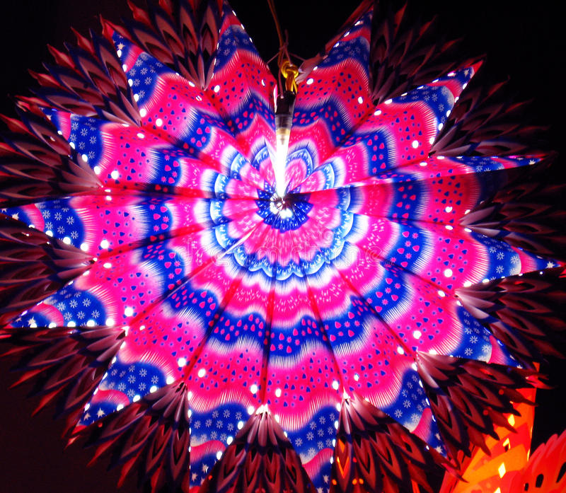 фонарики diwali стоковая фотография