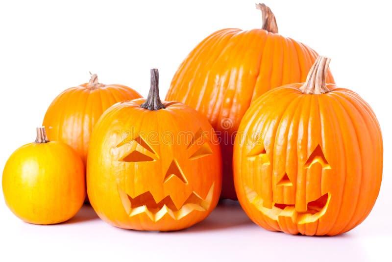 фонарики o jack halloween стоковая фотография