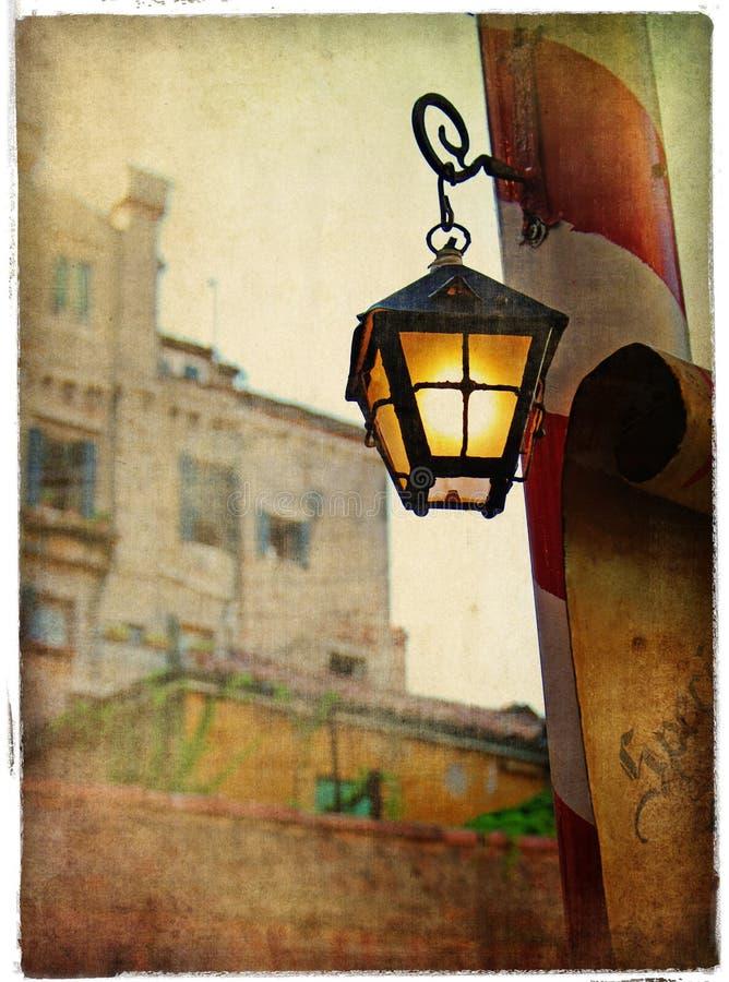 фонарики venice стоковая фотография rf