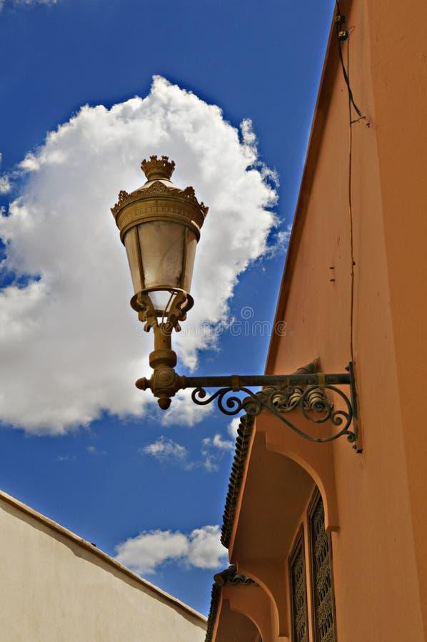 фонарик богато украшенный стоковая фотография