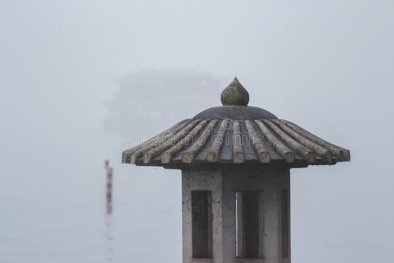 Фонарик на озере стоковое изображение rf