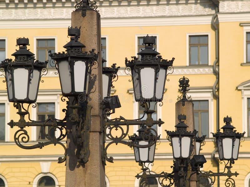 фонарик helsinki стоковое фото rf