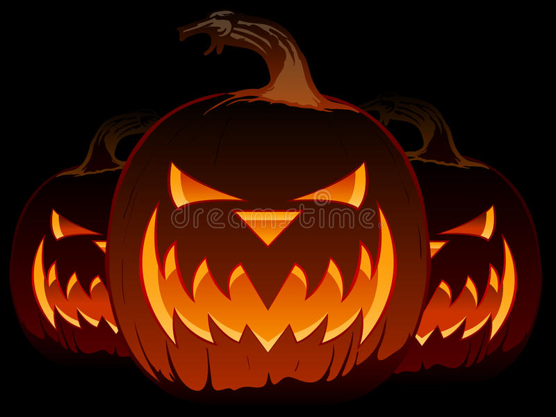 фонарик o jack halloween иллюстрация штока