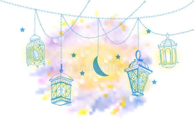 фонарик ramadan бесплатная иллюстрация