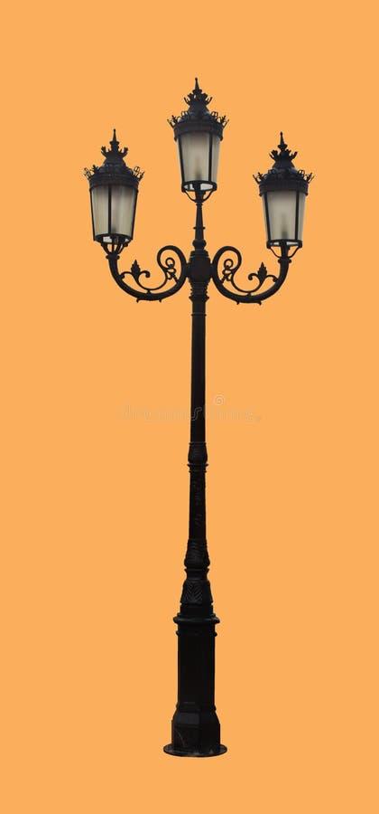 Фонарный столб улицы стоковое изображение rf
