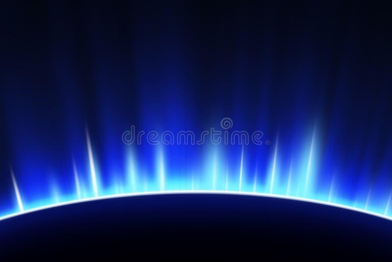 Фоновое изображение космоса иллюстрация вектора