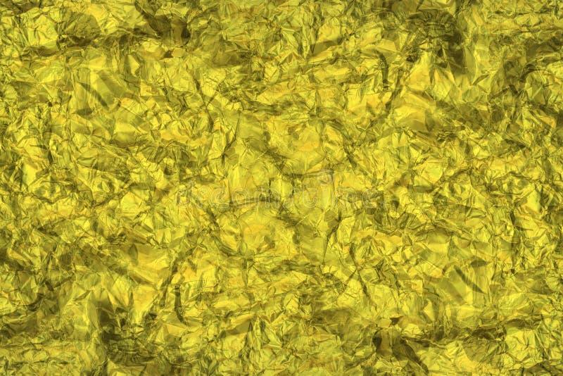 Фоновый фон золотого алюминиевого масла стоковые фотографии rf
