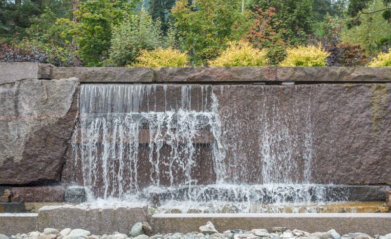 Фонтан 4 водопада стоковая фотография rf