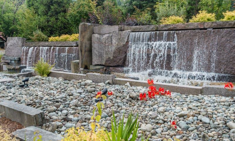 Фонтан 8 водопада стоковые фото