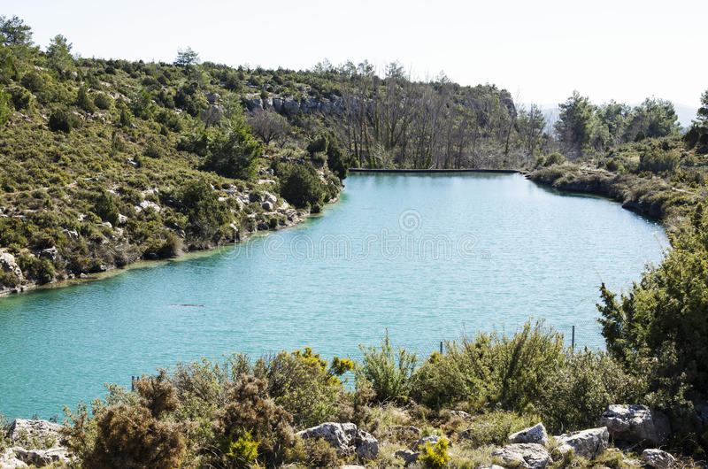 Фонтан и болото Camarillas стоковое фото