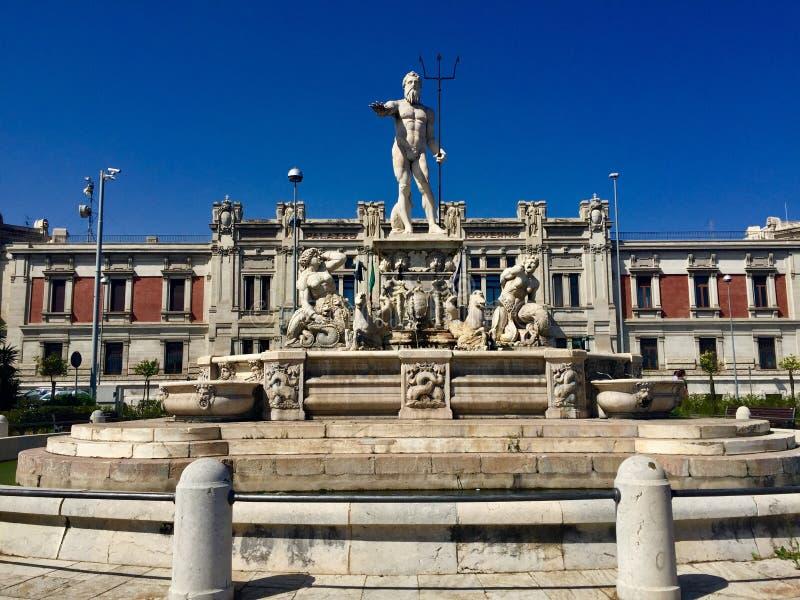Фонтан Нептуна, Мессина, Сицилия стоковая фотография rf