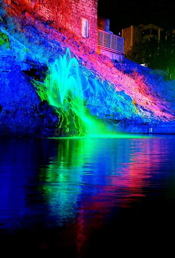 Фонтан цветов стоковые изображения
