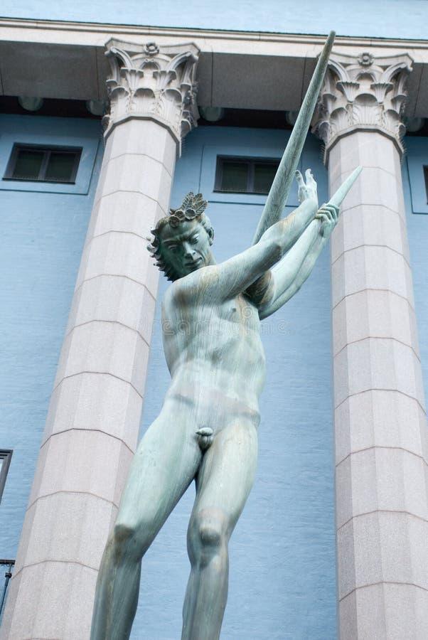 фонтан orpheus стоковые фото