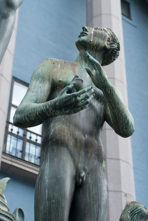 фонтан orpheus стоковая фотография