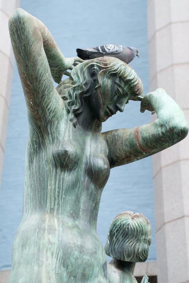 фонтан orpheus стоковое фото rf