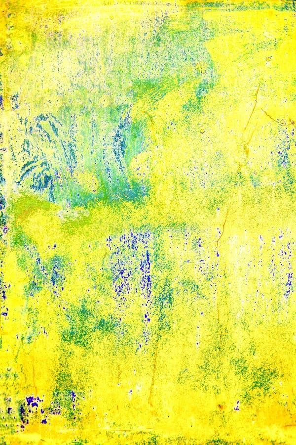 Фон абстрактного Grunge красочный текстурированный Дистресс верхнего слоя пыли искусства темный грязный стоковое изображение