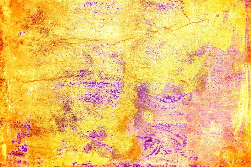 Фон абстрактного Grunge красочный текстурированный Дистресс верхнего слоя пыли искусства темный грязный стоковая фотография rf