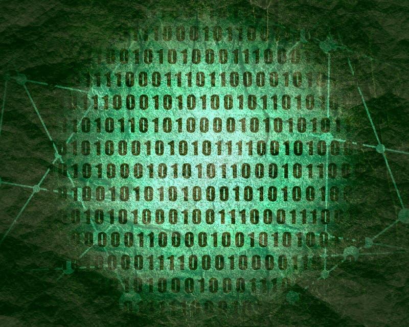 Фон бинарного кода стоковое изображение rf