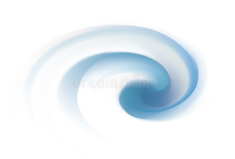 Фон вектора серый завихряясь текстуры иллюстрация вектора