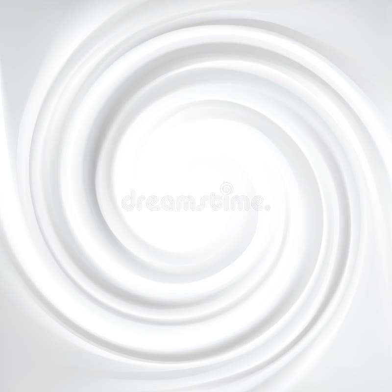Фон вектора серый завихряясь текстуры бесплатная иллюстрация