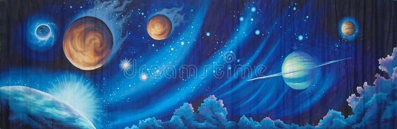 Фон космоса бесплатная иллюстрация