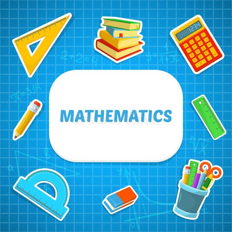 Фон математики бесплатная иллюстрация