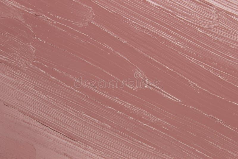 Фон образца Nude Pink Lipstick стоковое изображение rf