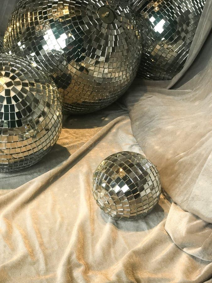 Фон партии праздника шарика диско стоковая фотография rf