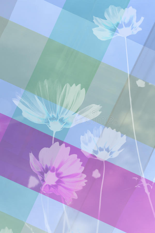 Фон сделанный голубой ткани стоковые фотографии rf