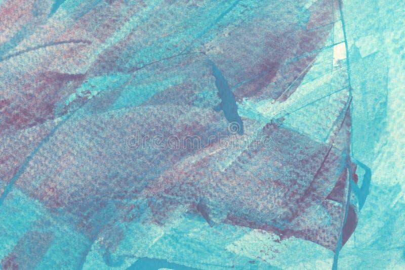 Фон текстуры цвета водоплавающего крана Светло-голубые и красные раскрашенные сплетни бесплатная иллюстрация