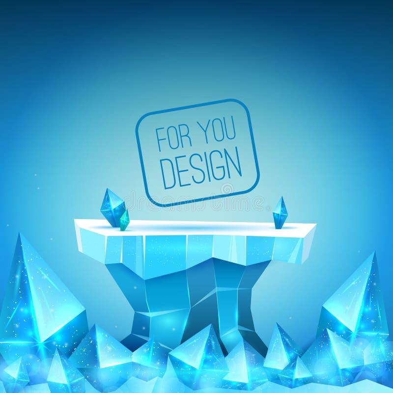 Фон льда бесплатная иллюстрация