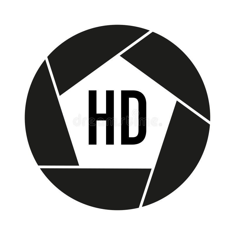 Форматы фото видео- в черно-белом бесплатная иллюстрация