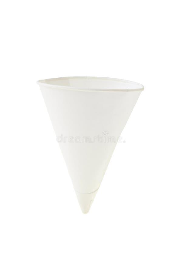 форма бумаги чашки конуса стоковые изображения rf