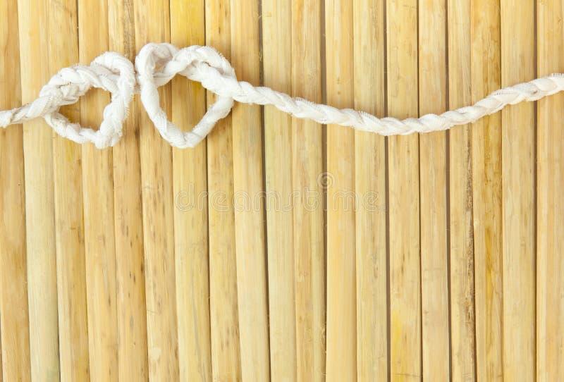 форма веревочки сердца стоковые фото
