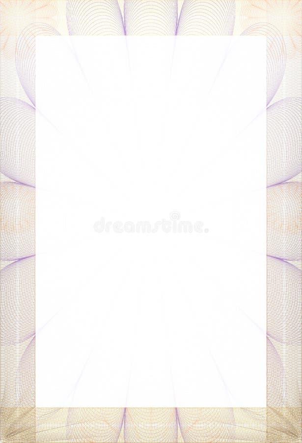 форма диплома сертификата иллюстрация штока изображение   форма диплома сертификата иллюстрация штока изображение насчитывающей декор 18619681