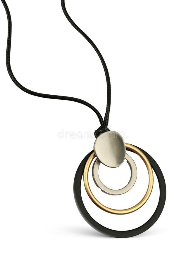 Форма круга украшений привесная, изолированная на белом, закрепляя пр стоковые фотографии rf