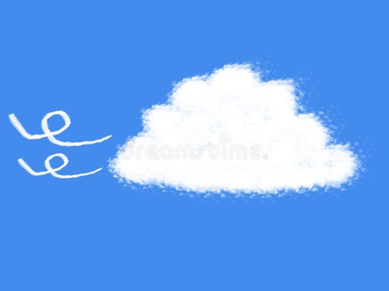 Форма облака бесплатная иллюстрация