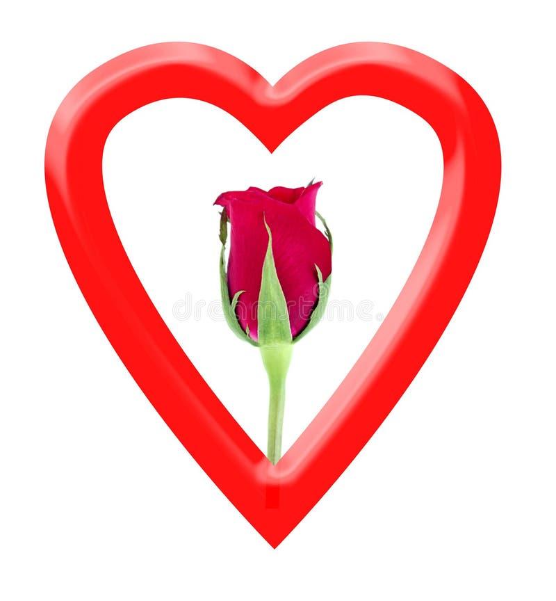 Download форма сердца розовая иллюстрация штока. иллюстрации насчитывающей поцелуй - 494495