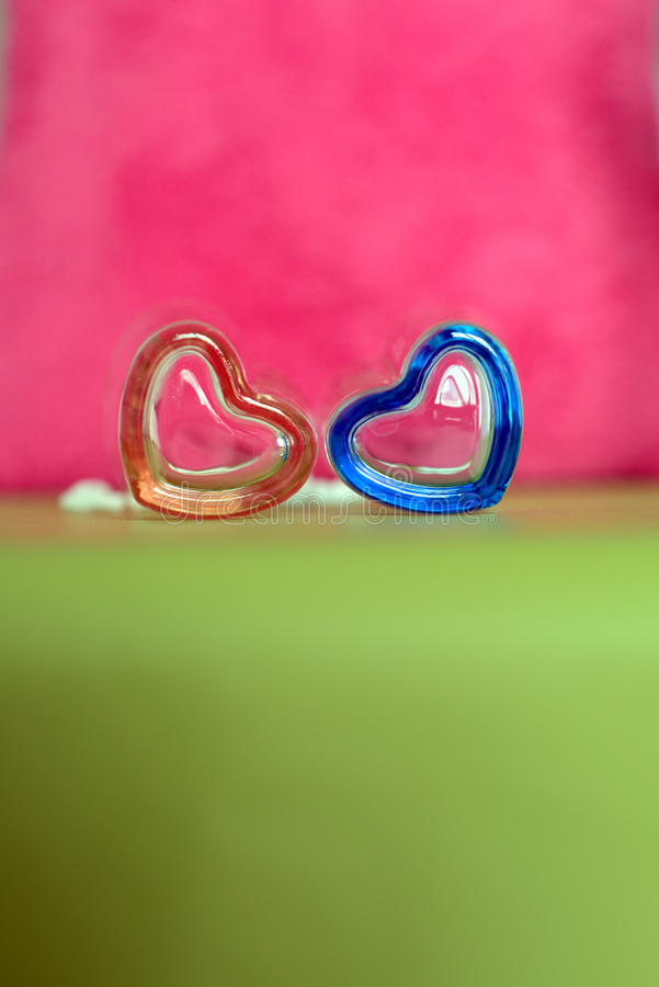 Форма сердца валентинки стоковая фотография rf