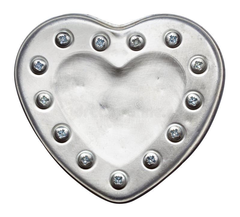 Сердце металла стоковые фото