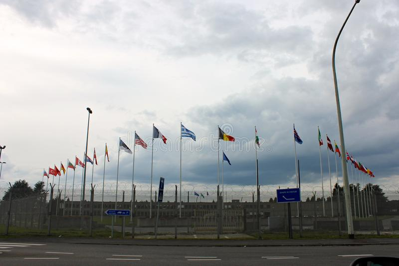 ФОРМА, Mons, Бельгия стоковая фотография rf