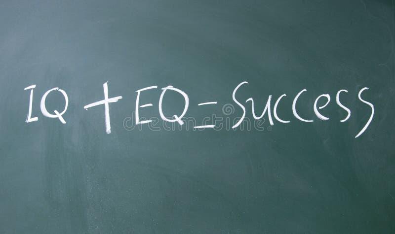 Формула для успеха стоковое изображение rf