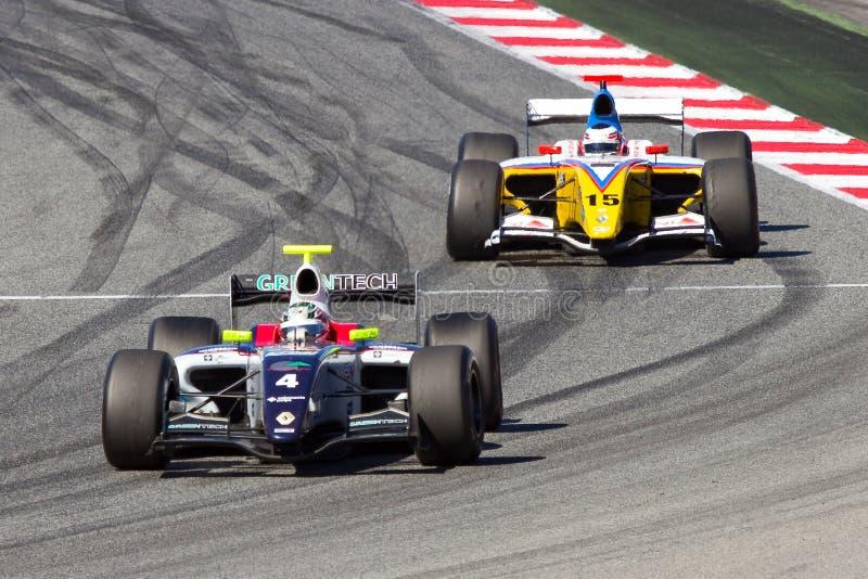 Формула Renault 3.5 стоковые фото
