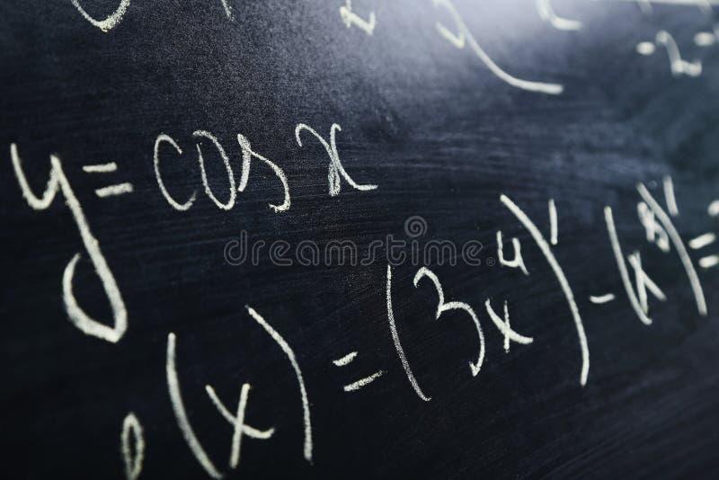 Формулы математик стоковые фотографии rf