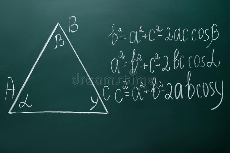 Формулы математик стоковые изображения