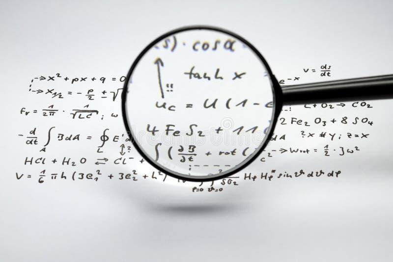 формулы стоковая фотография rf