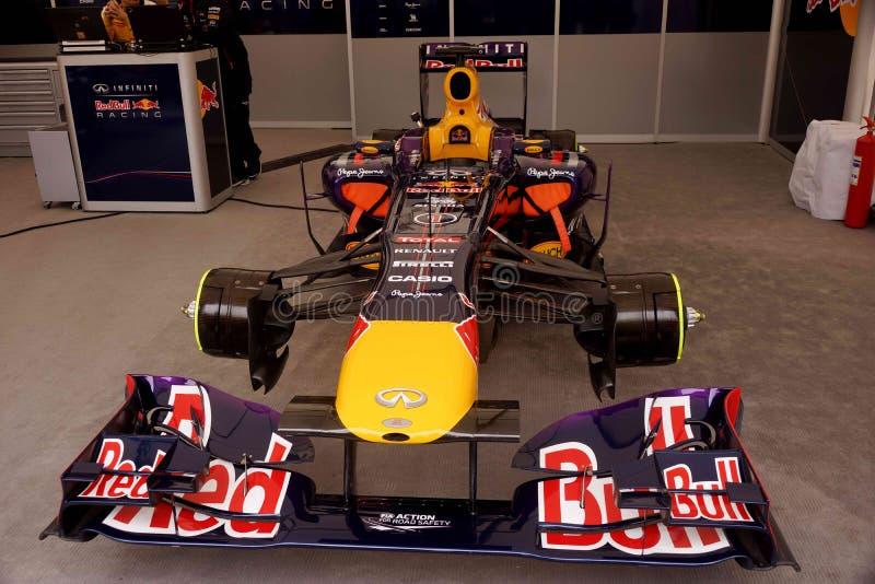 Формула-1 автомобиля стоковые изображения rf
