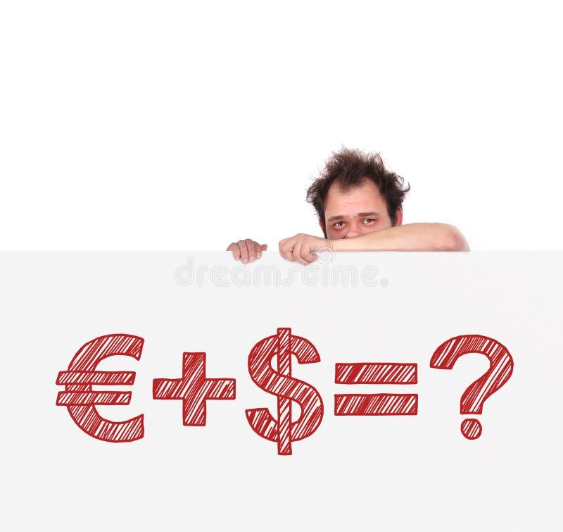 Формула денег иллюстрация вектора